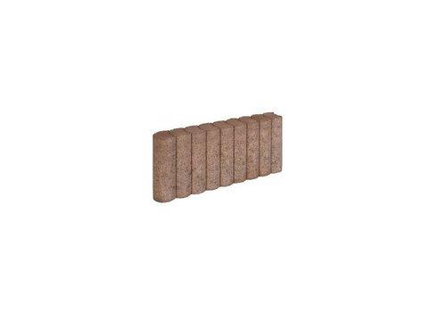 Palissadebanden bruin Ø 6x25x50 cm