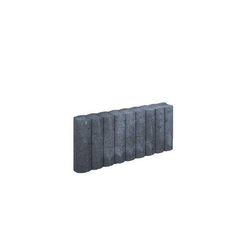 Palissadebanden antraciet Ø 8x25x50 cm