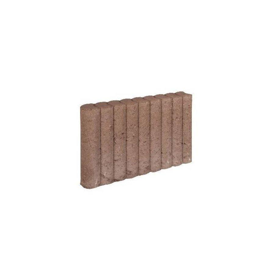 Palissadebanden bruin Ø 8x35x50 cm