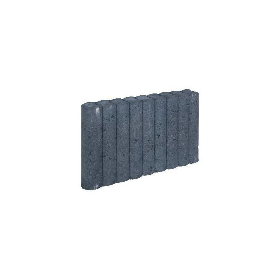 Palissadebanden 25x50 ⌀8 antraciet