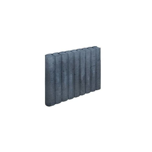 Palissadebanden 50x50 Ø8 antraciet