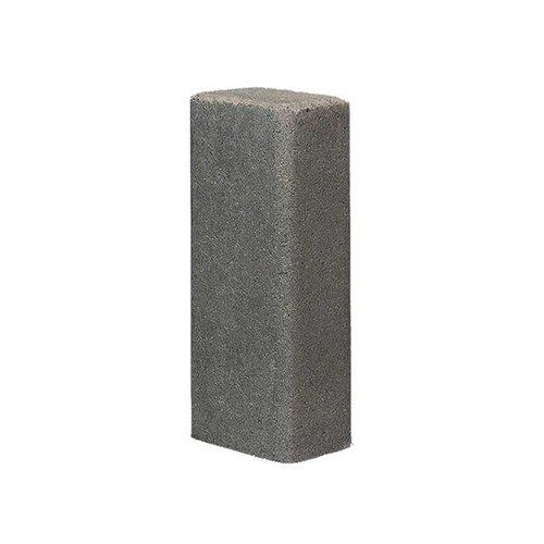 Palissade rustiek grijs 11x16,5x60 cm