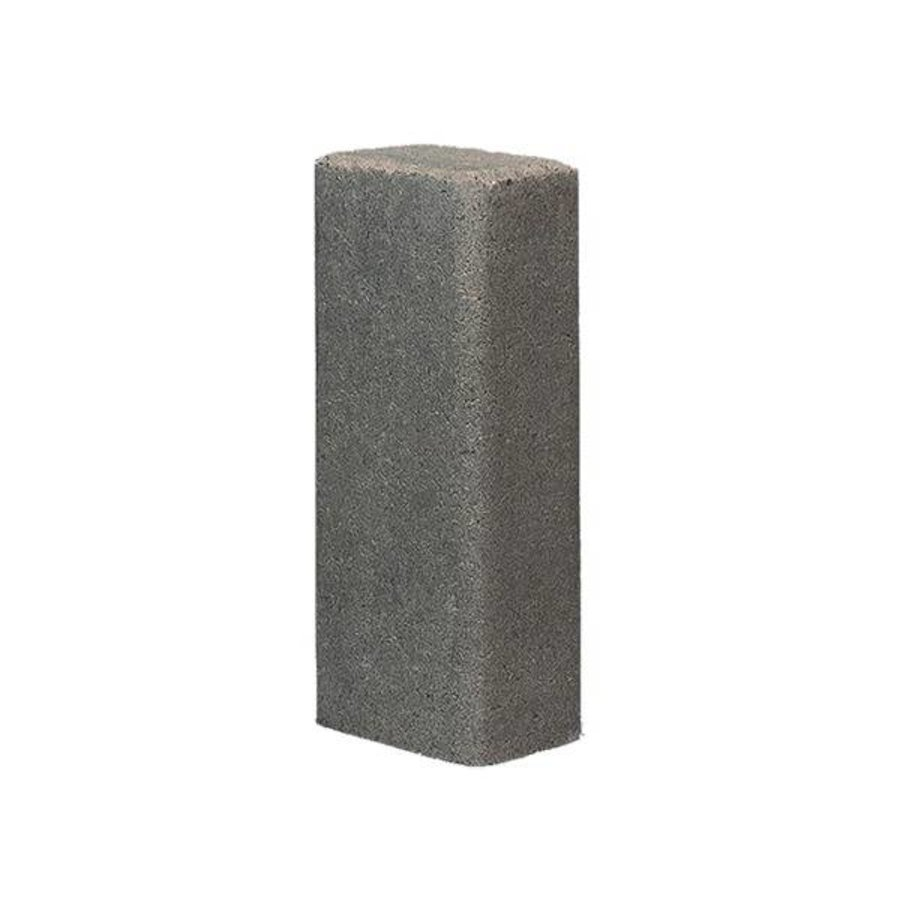Palissade rustiek 11x16,5x60cm grijs