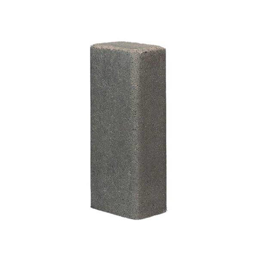 Palissade rustiek grijs11x16,5x60 cm