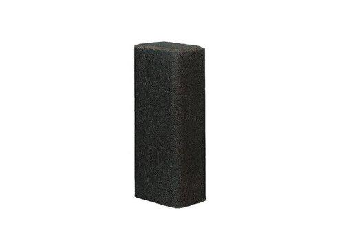 Palissade rustiek 11x16,5x60cm antraciet