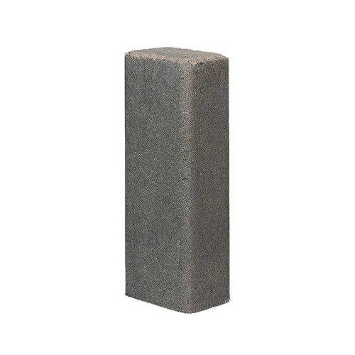 Palissade rustiek grijs 11x16,5x80 cm