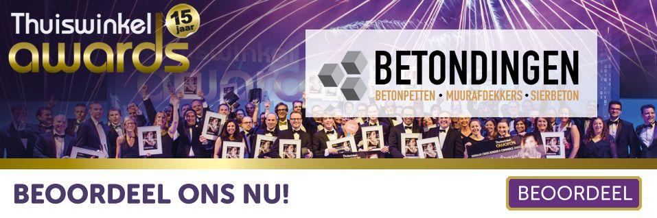 Deelname Betondingen.nl aan Thuiswinkel Awards