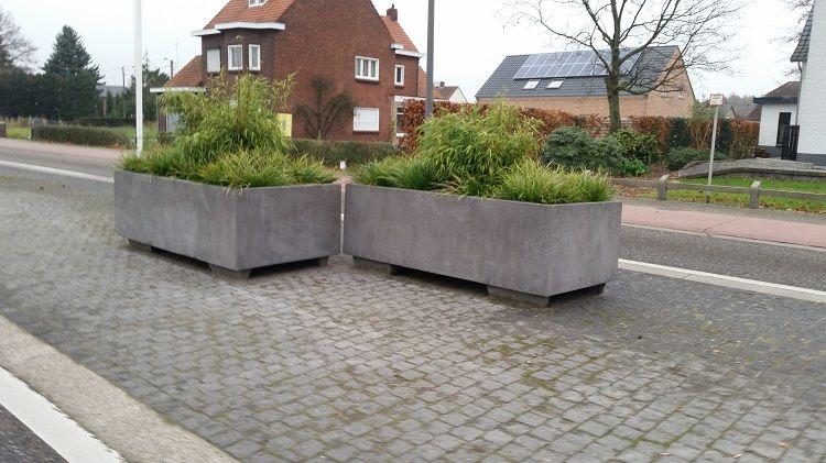 Een bloembak beton, duurzaam en stijlvol