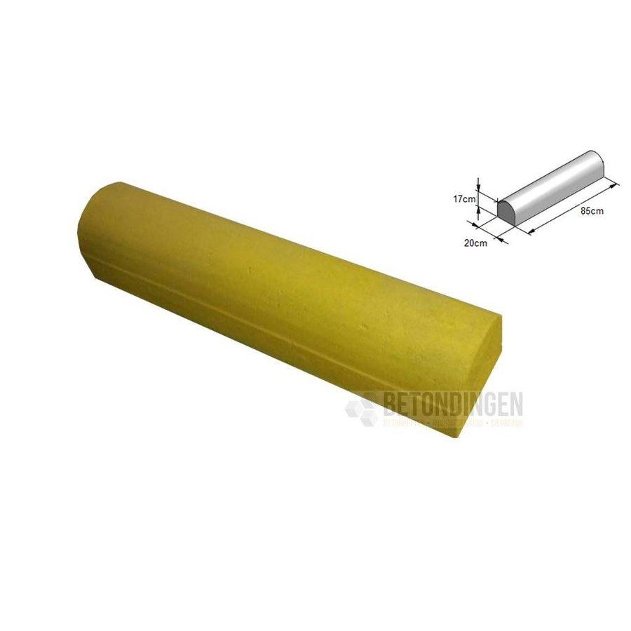Stootbanden 2 kanten recht geel