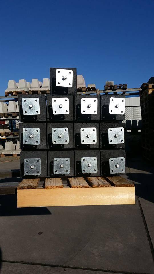 Goede Prefab Betonpoer 15x15x60 cm incl. hoogteverstelling | Betondingen QN-36