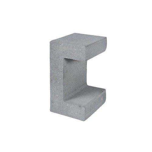 U-elementen grijs 30 cm
