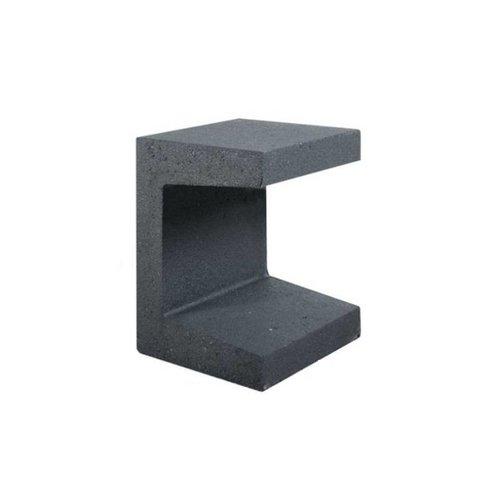 U element beton 30x30x40 antraciet