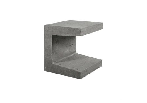U element beton 30x30x40 grijs