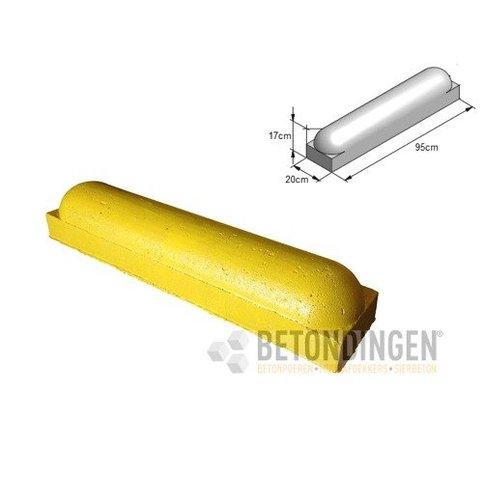 Stootbanden ROND geel