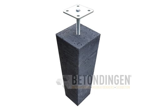 Prefab Betonpoer 20x20x60 cm incl. hoogteverstelling