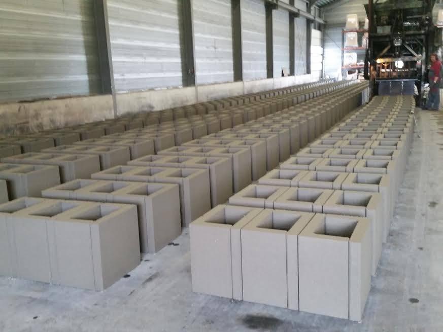 De verschillende vormen van betonproductie