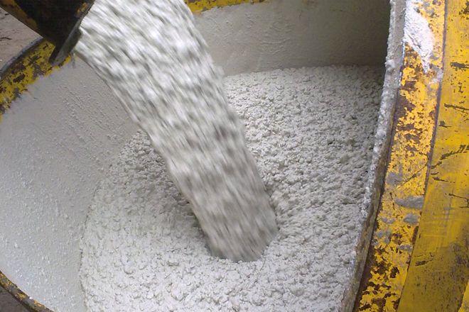 Beton gieten door middel van zelfverdichtend beton