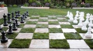 Een schaakbord maken met tegels