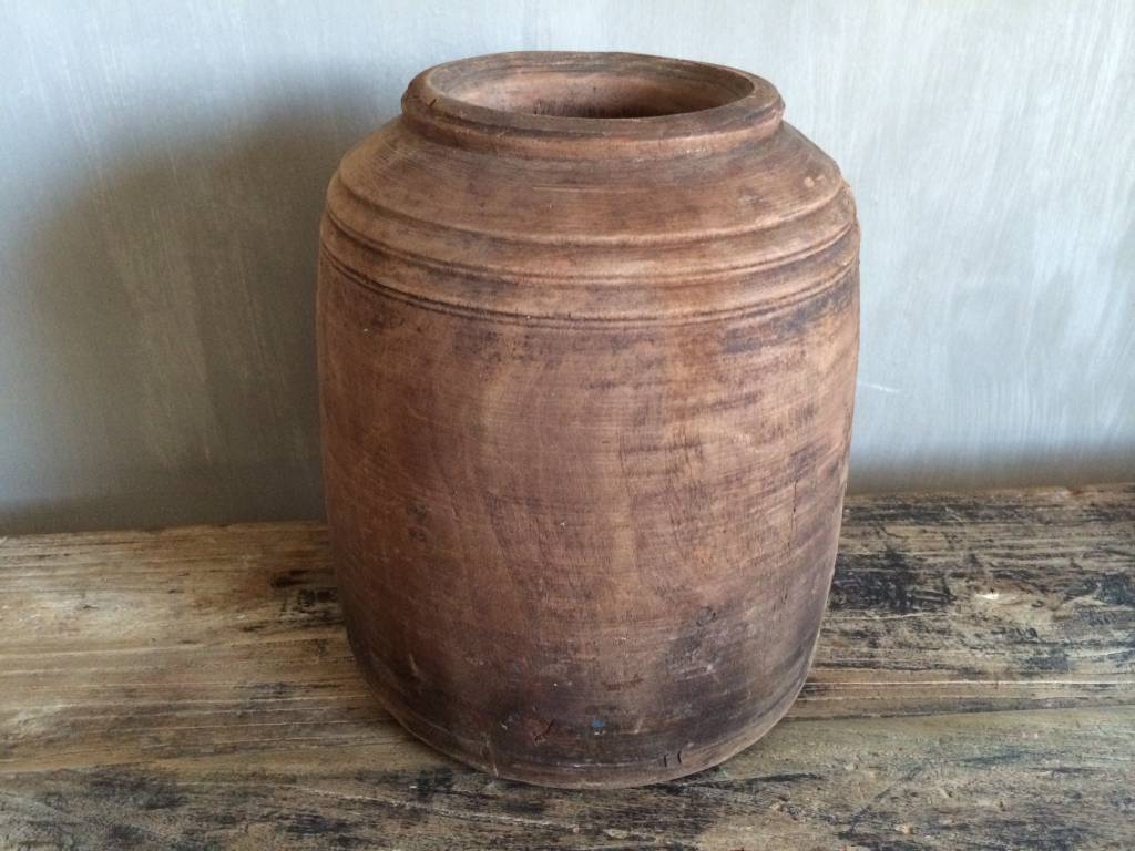 Wooden pot (XL)