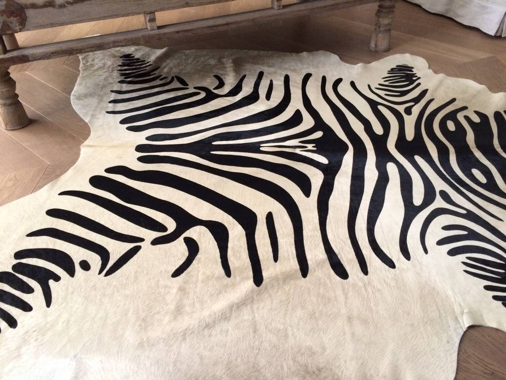 Koeienhuid met zebra print