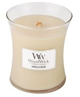 Woodwick, Medium Candle Vanilla Bean