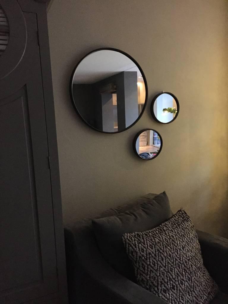 Spiegel rond (groot)