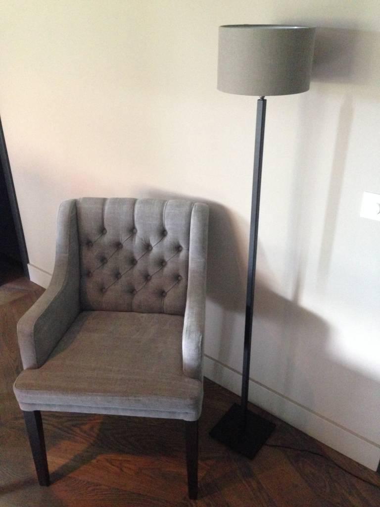 Vloerlamp vierkante buis