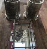 Schelpensnoer grijs (S)