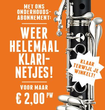 Atelier Broeke Abonnement klarinetten