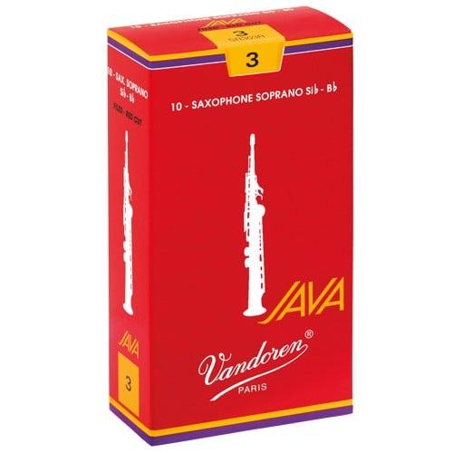 Vandoren Vandoren sopraansaxofoon rieten Java Red