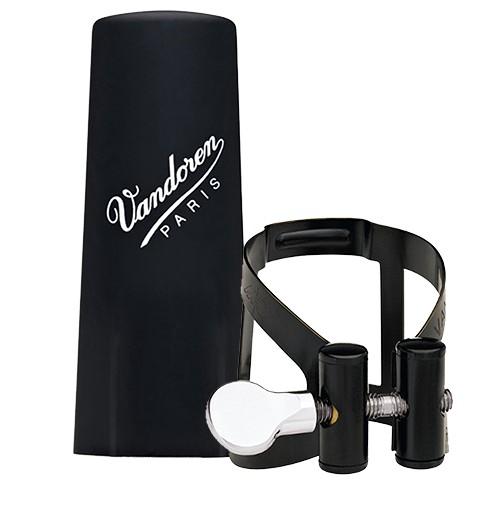 Vandoren Vandoren altklarinet rietbinder M/O zwart met kunststof dop