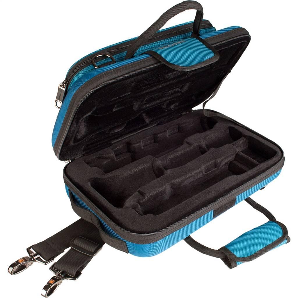 Protec Protec besklarinet koffer teal blue