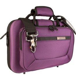 Protec besklarinet koffer paars