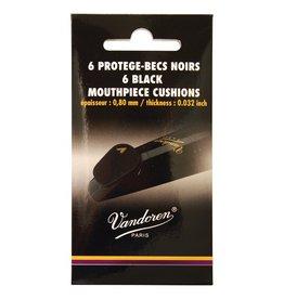 Vandoren mondstukplakker dik en zacht zwart, 1 stuk.