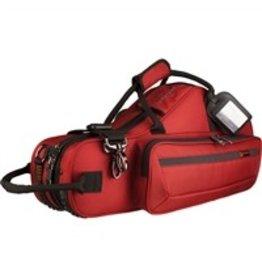 Protec Protec altsaxofoon vorm koffer rood