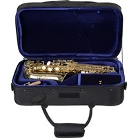 Protec Protec Sopraansaxofoon koffer zwart voor gebogen sopraansax