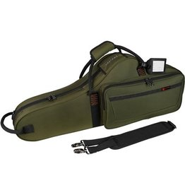 Protec tenorsaxofoon vorm koffer groen