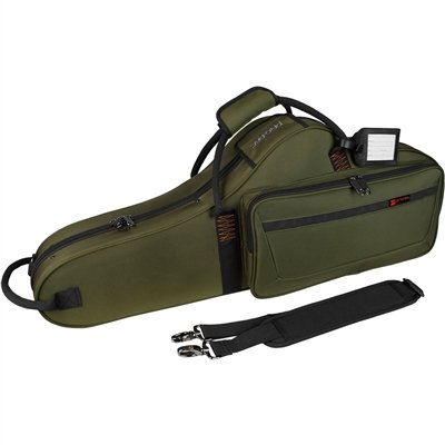 Protec Protec tenorsaxofoon vorm koffer groen