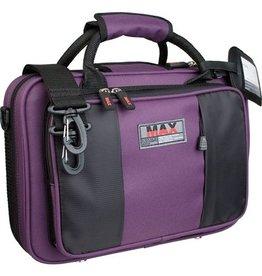 Protec MAX besklarinet koffer Paars
