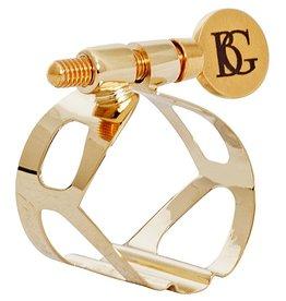BG sopraansaxofoon rietbinder Tradition Goudlak
