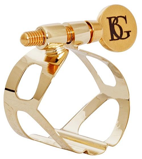 BG BG sopraansaxofoon rietbinder Tradition Verguld