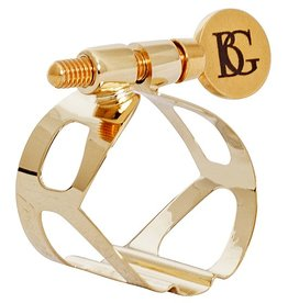 BG baritonsaxofoon rietbinder Tradition Goudlak