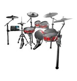 Alesis ALESIS STRIKE PRO KIT ELEKTRONISCH DRUMSTEL Professional Electronic Drum Kit with Mesh Heads 6 delig 5 cymbals