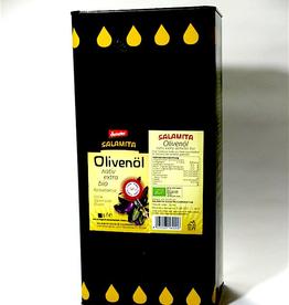 Salamita BIO Olivenöl, im 5l Kanister