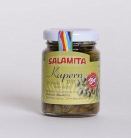 Salamita Kapern in Olivenöl BIO