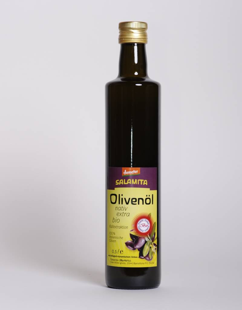 Salamita Olivenöl, 0,5L Flasche