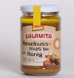 Salamita Haselnussmus mit Honig Demeter