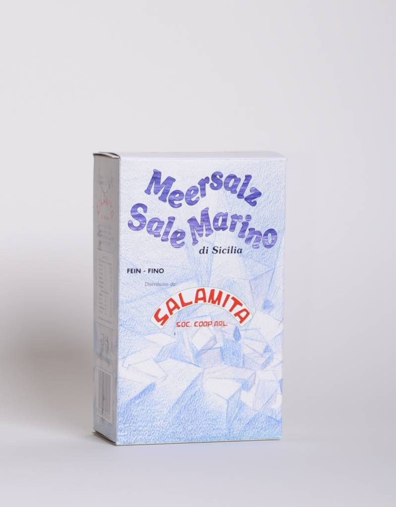 Salamita Sizilianisches Meersalz fein, gewaschen, 1KG