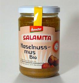 Salamita Haselnussmus pur Demeter