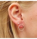 LAVI Open Circle Earrings - Sterling Silver